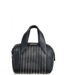 Black Embellished Mini Satchel
