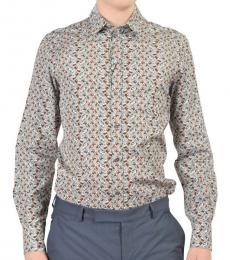 Dolce & Gabbana Multicolor Long Sleeve Dress Shirt