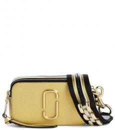 Marc Jacobs Gold Snapshot Small Crossbody