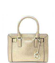 Michael Kors Pale Gold Dillon Medium Satchel