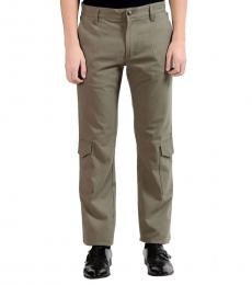Versace Collection Green Trend Cargo Pant