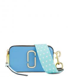 Marc Jacobs Light Blue Snapshot Small Crossbody