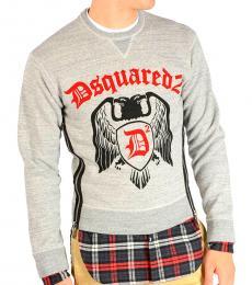 Dsquared2 Grey Printed Sweatshirt