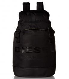 Diesel Black F-Suse Large Backpack