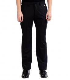 Versace Collection Charcoal Wool Dress Pants
