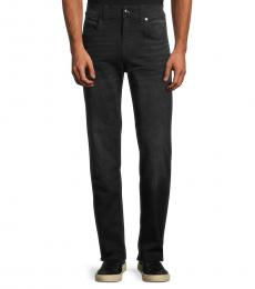 True Religion Black Devin Straight Jeans