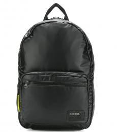 Diesel Black F-Discover Large Backpack