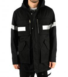 Neil Barrett Black Cotton Blend Jacket