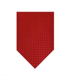 Red Well Tailored Wide Tie