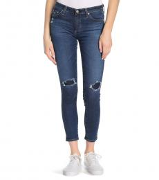 AG Adriano Goldschmied Dawn Mended Super Skinny Jeans