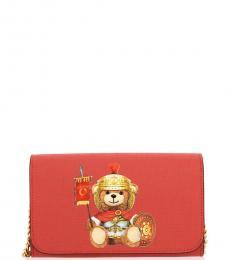 Red Teddy Mini Crossbody