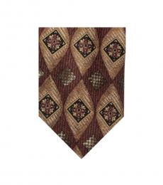 Dolce & Gabbana Brown Neat Tie
