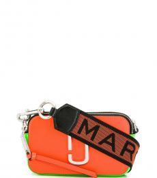 Orange Snapshot Small Crossbody