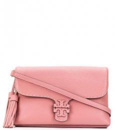 Pink McGraw Foldover Large Crossbody