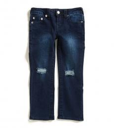 True Religion Little Boys Blue Nile Ricky Single End Jeans