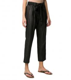 Brunello Cucinelli Black High Rise Trousers