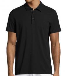Michael Kors Black Bryant Polo