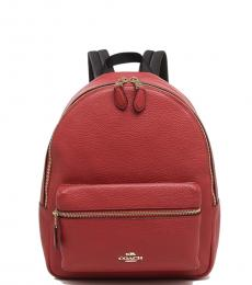 Red Charlie Small Backpack
