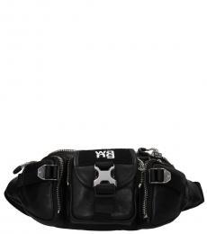 Alexander Wang Black Logo Belt Bag