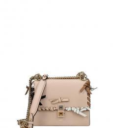 Fendi Pink Kan I Small Shoulder Bag
