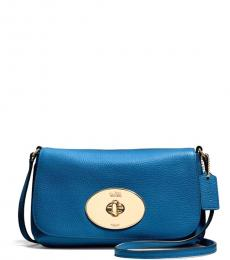Coach Denim Liv Small Crossbody