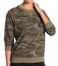 Olive Classic Camo Sweatshirt