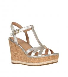 Gold Melissa Wedges