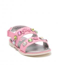 Juicy Couture Baby Girls Pink Melrose Sandals