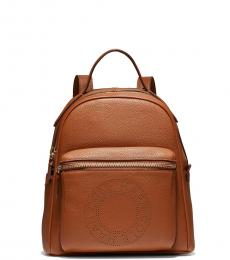 Cole Haan British Tan Logo Small Backpack