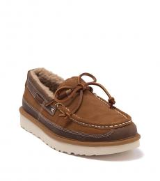 UGG Chestnut Dex Leather Loafers