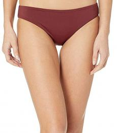 Sea Folly Plum Active Hipster Pants