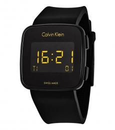 Calvin Klein Black Future Chronograph Digital Watch