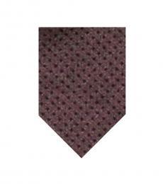 Calvin Klein Purple Mini Square Tie
