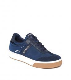 Bikkembergs Blue Low Top Sneakers