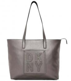 DKNY Silver Tilly Large Tote