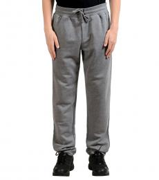 Grey Sweat Track Pants