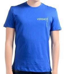 Versace Jeans Blue Crewneck T-Shirt