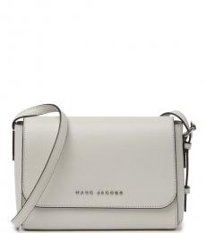 Marc Jacobs Ghost Grey The Commuter Small Crossbody