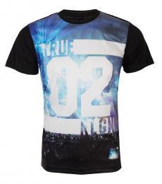 True Religion Black Concert Graphic T-Shirt