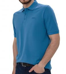 Hugo Boss Turquoise Front Logo Polo