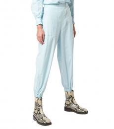Marc Jacobs Blue Solid Jogger Pants