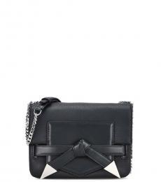 Black Bow Small Shoulder Bag