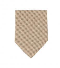 Michael Kors Brown Well Tailored Skinny Silk Tie