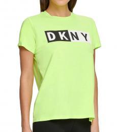 DKNY Zest Sport Colorblocked-Logo T-Shirt