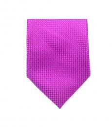 Pink Traditional  Skinny Silk Tie