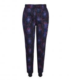 Emporio Armani Black Stretch Sweatpants