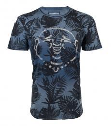 Indigo Buddha Curved Hem T-Shirt