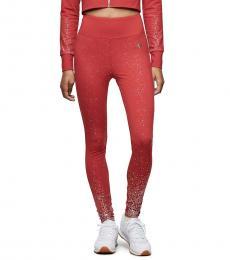 True Religion Ruby Red Shimmer Legging