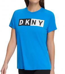 DKNY Ibiza Sport Colorblocked-Logo T-Shirt
