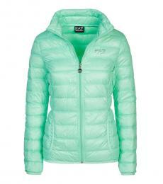 Emporio Armani Mint Puffer Down Jacket